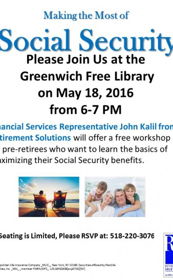 Social Security Info.
