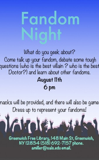 Teen Fandom Night