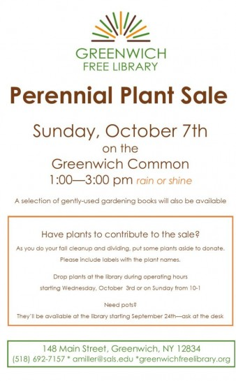 Fall Plant Sale!