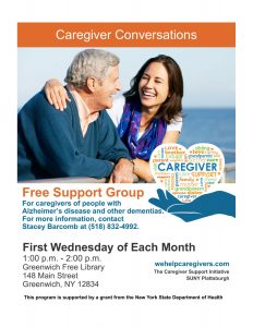 Alzheimer's disease and other dementias Support Group