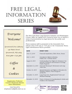 Free Legal Information Series @ Greenwich Free Library