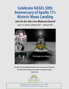 LIVE Webinar Celebrating Apollo 11's 50th Anniversary